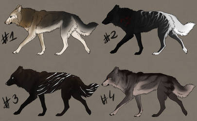 CANINE ADOPT AUCTION - 300p -Open by AlternVerna
