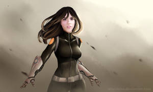 Marvel's Agents of SHIELD- Skye as Daisy Johnson by oTwinkieo