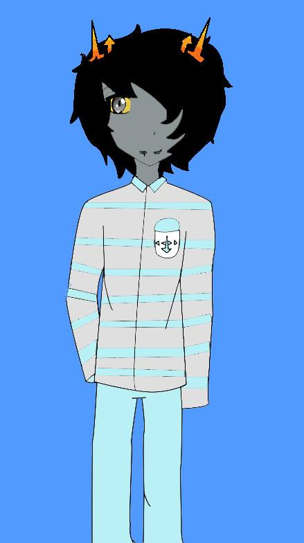 Liabye Corkai (Homestuck OC) by bleach-naruto-lover
