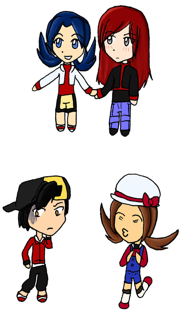 GSCS Chibis by invisible-chan