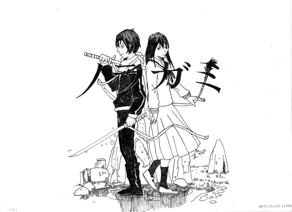 Noragami (F) by Ensaru64
