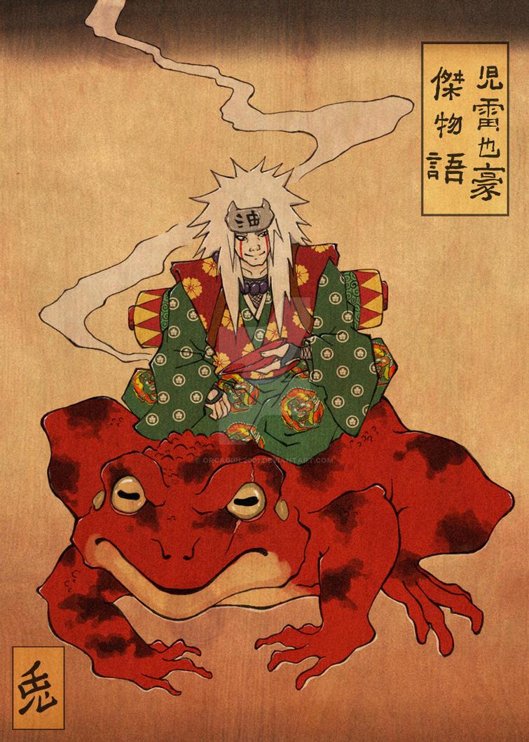 Jiraiya Goketsu Monogatari Buy Folk Art