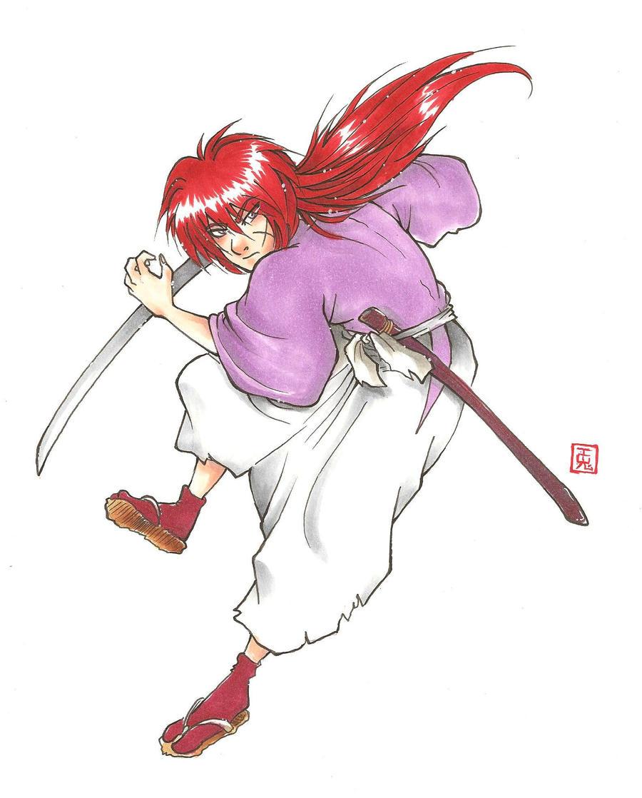 TRIBUTE - Rurouni Kenshin by Orcagirl2001