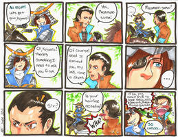 Sengoku Basara - Dragon Brat by Orcagirl2001