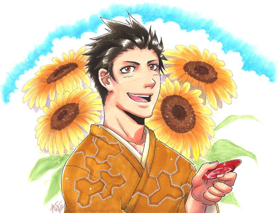 Sengoku Basara - Sunflower by Orcagirl2001