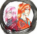 Sakurachi and Tachibana by Orcagirl2001