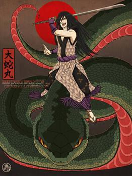 Lord of Serpents - Orochimaru