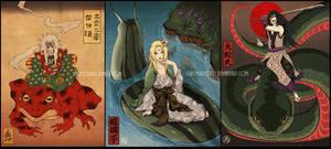 The Three Legendary Sannin