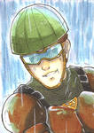 ACEO - Mumen Rider by Orcagirl2001