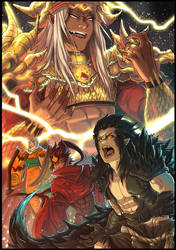 Burning Roar of Ruin by Orcagirl2001