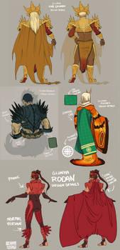 Gijinka Kaiju - Costume Details