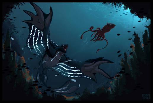 Commission - Deep Sea Hunt