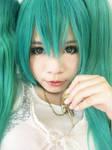 close up - Miku by Takui1896