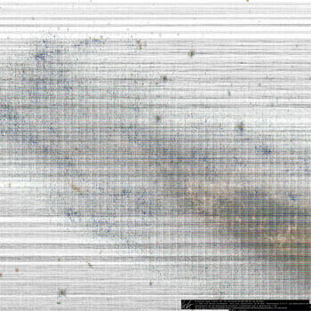 kosmos: [invers] 50.000.000,00(NGC1448 auf HWV327) by datengraphie