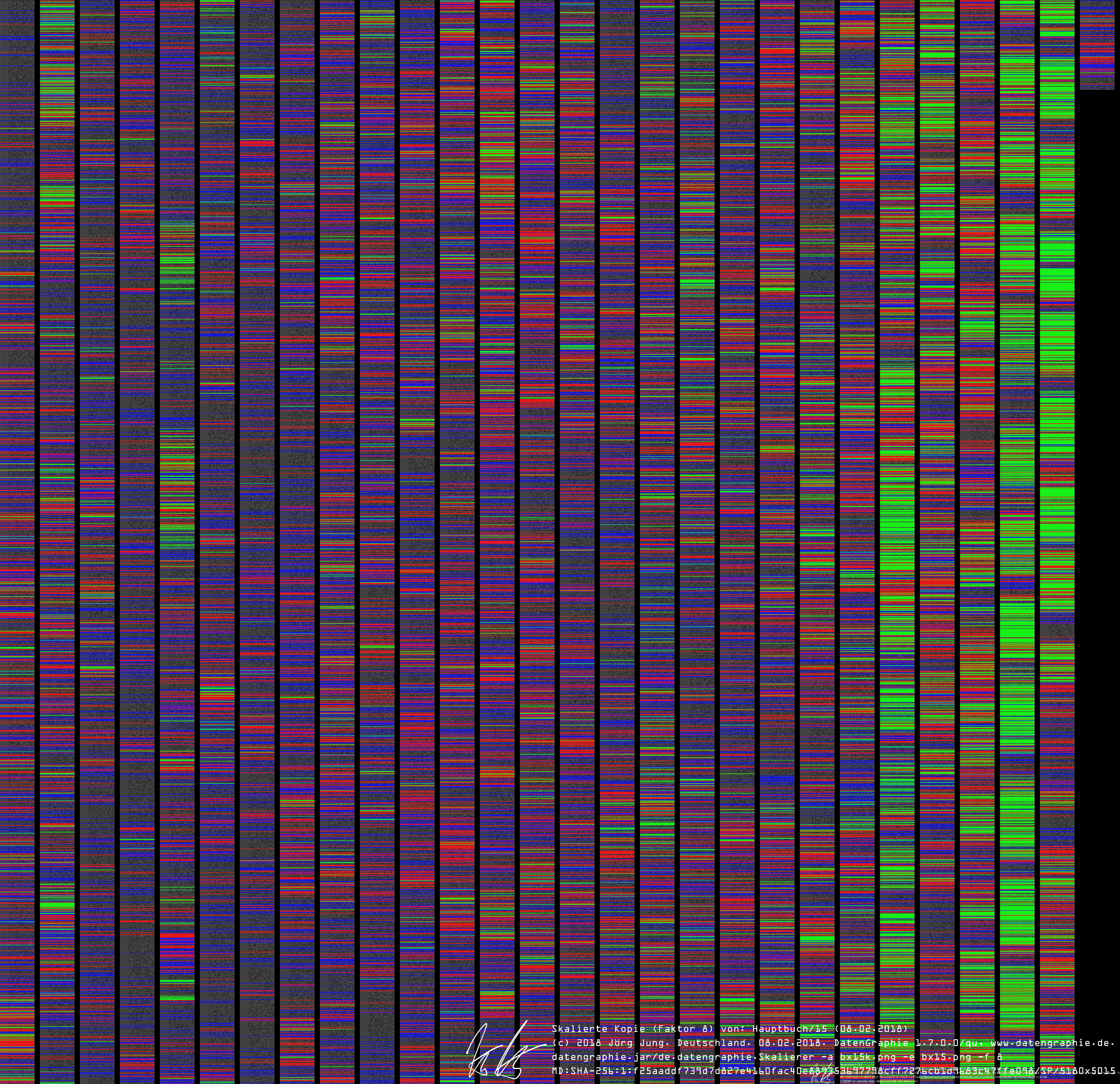 datengraphie: krypto: Hauptbuch/15 by datengraphie