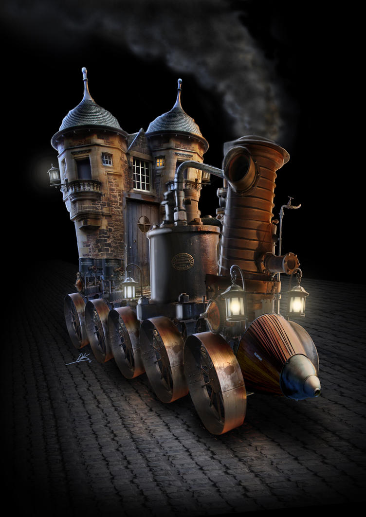 Steam Castle I by Zilverbergelf