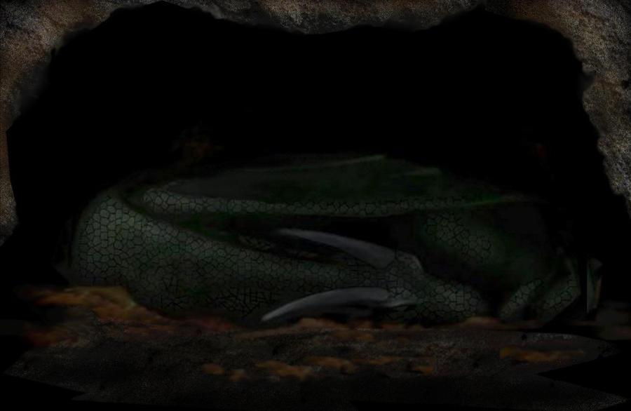 sleeping dragon by kevissykez - photo #6