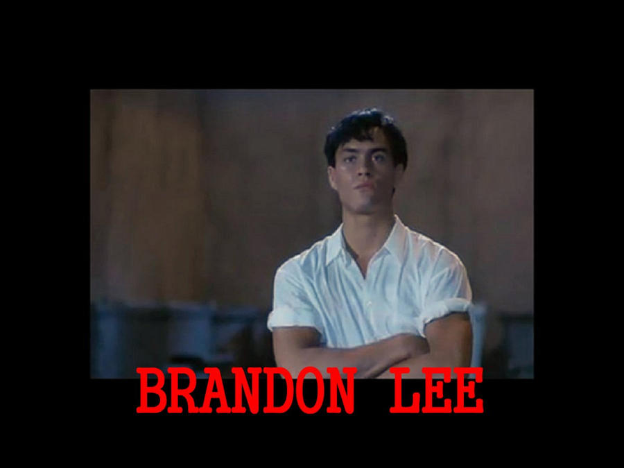 Brandon Lee by trid2bnrml