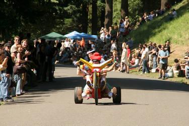 Adult Soap Box Derby 2007 by mumblyjoe