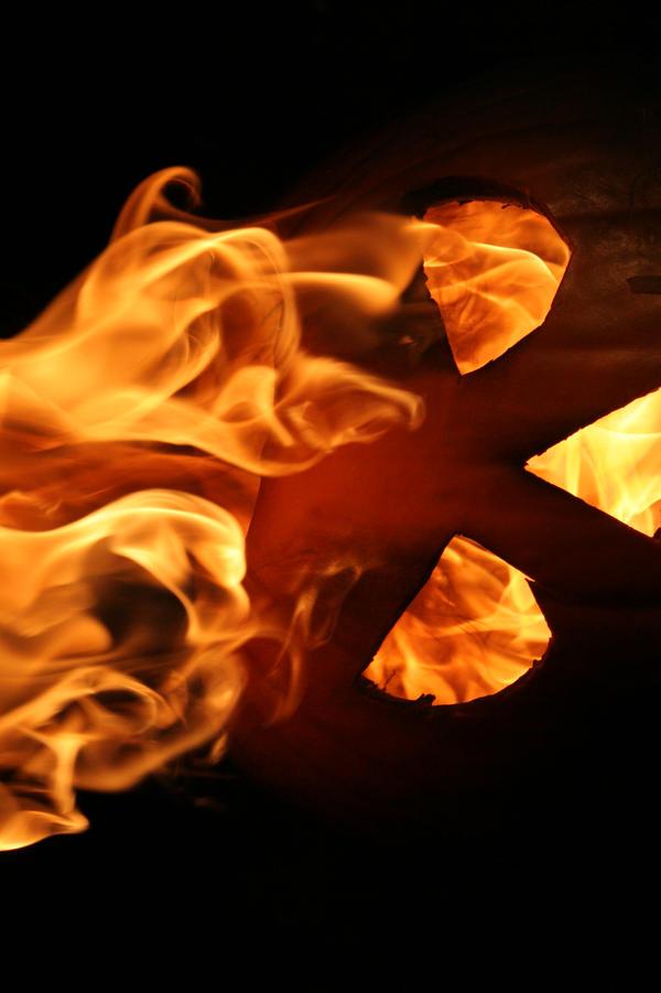 Burning Pumpkin 5873