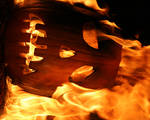 Burning Pumpkin 6208