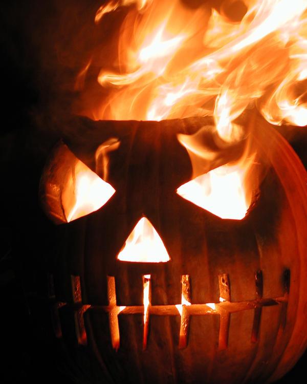 Burning Pumpkin 089117