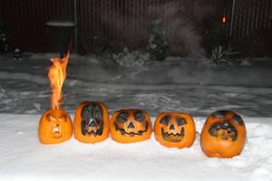 Burning pumpins in January? by mumblyjoe