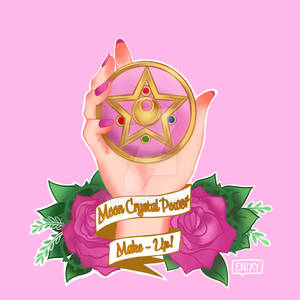 Sailor moon Transformation pin design.
