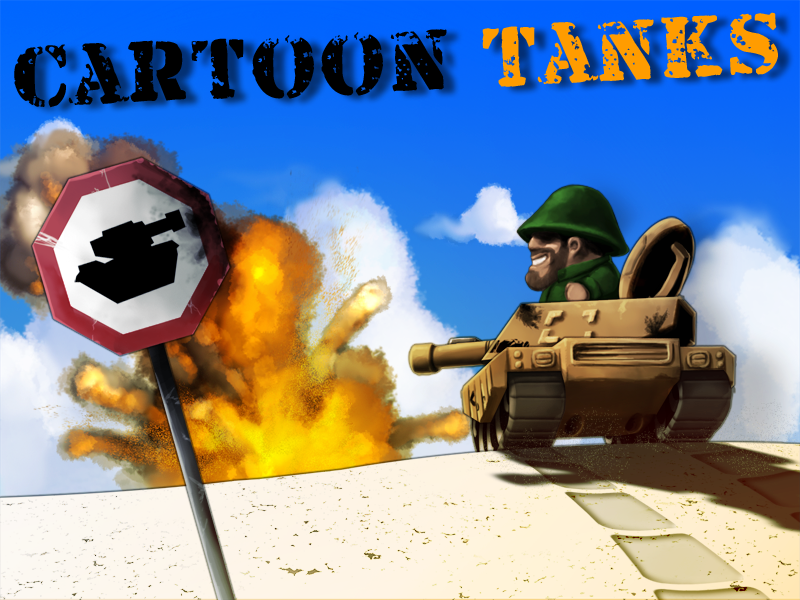 Cartoon Tanks -GAME- by Griphinator