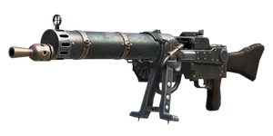 Favorite COD Zombies Guns: The MG08/15(dieselpunk) by ComannderrX