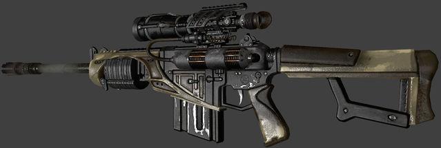 Kasimov SNV-E99 Sniper Rifle by ComannderrX