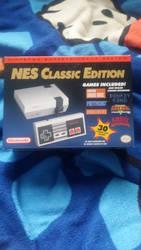 I got an NES Classic edition!