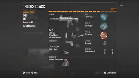 Call Of Duty Black Ops 2 Assault Rifle Class 1
