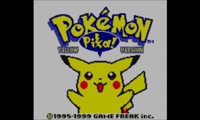 I Got Pokemon Yellow Version