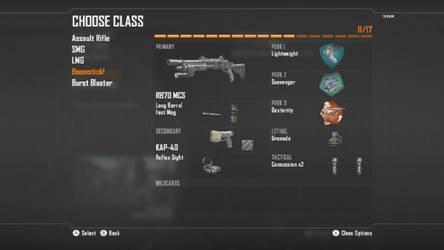 Call Of Duty Black Ops II Shotgun Class