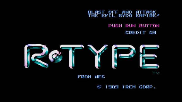 R-Type for Turbografx-16
