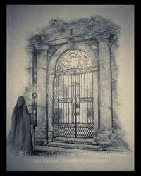 A Gate through Mist by Kaelhiar