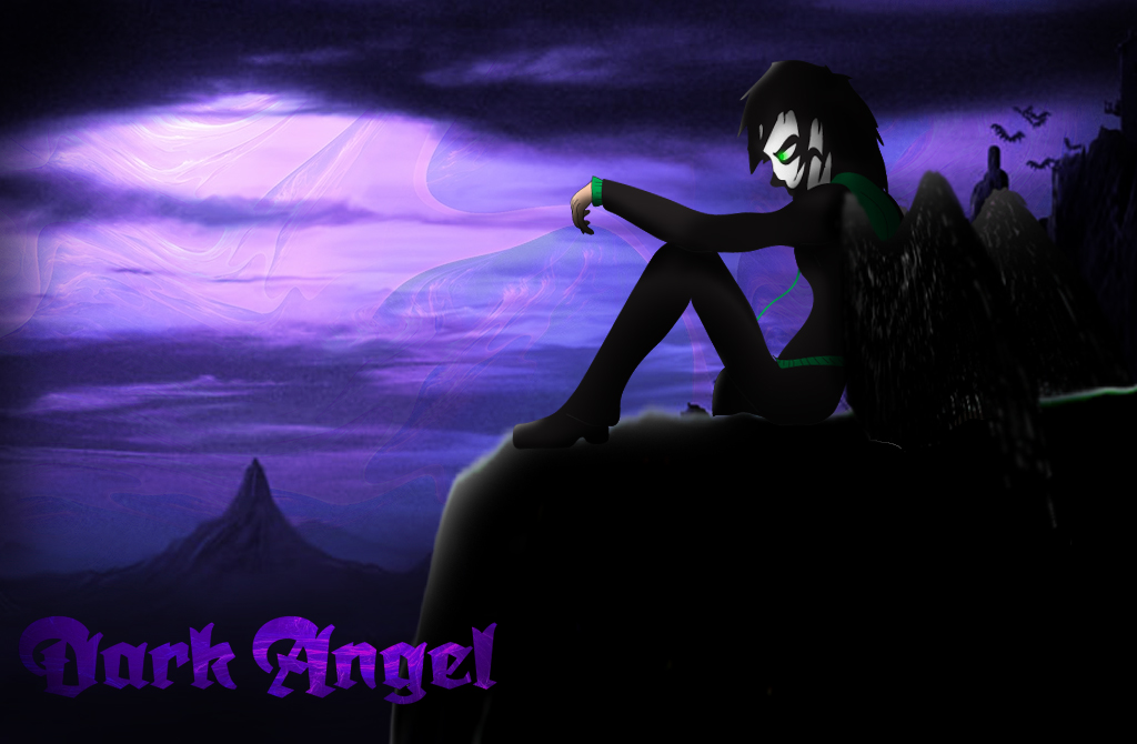 Dark angel wallpaper by bethanygamemaster