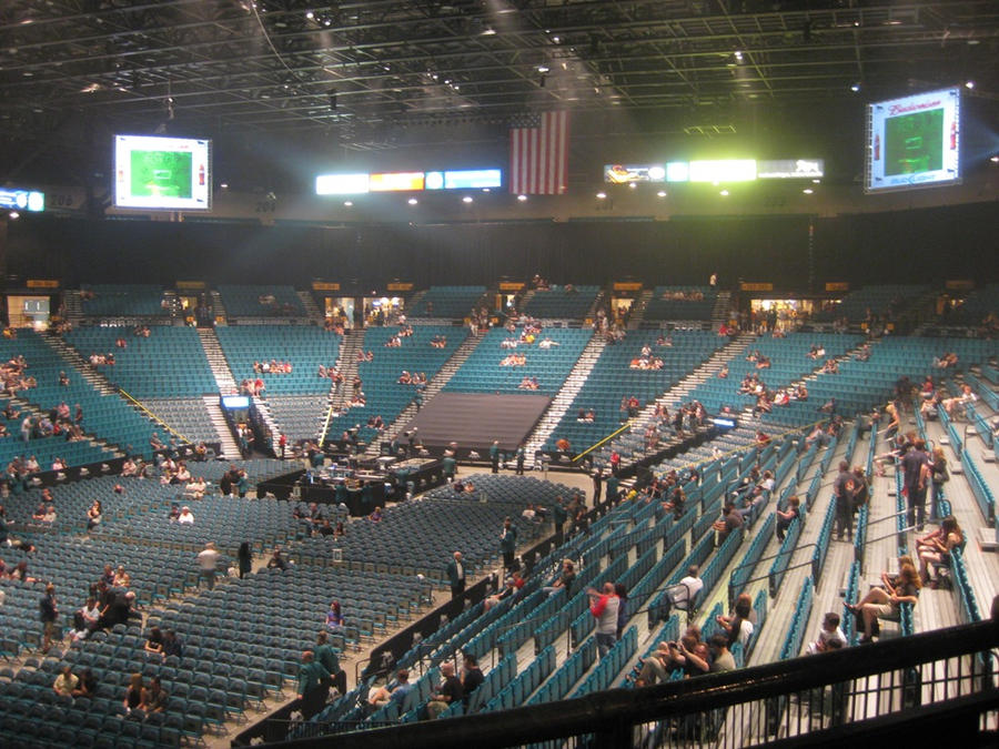 111126 Our Seats for KPOP MASTERS @ MGM Grand Garden Arena ...  Mgm Grand Virtual Tour