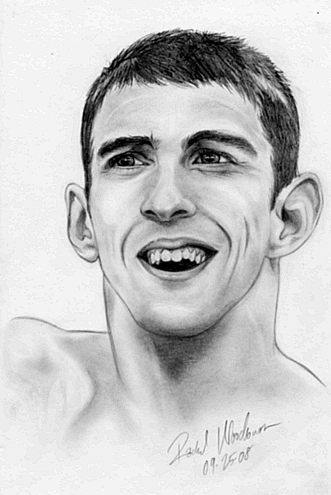 OLD: Michael Phelps by beefyrae