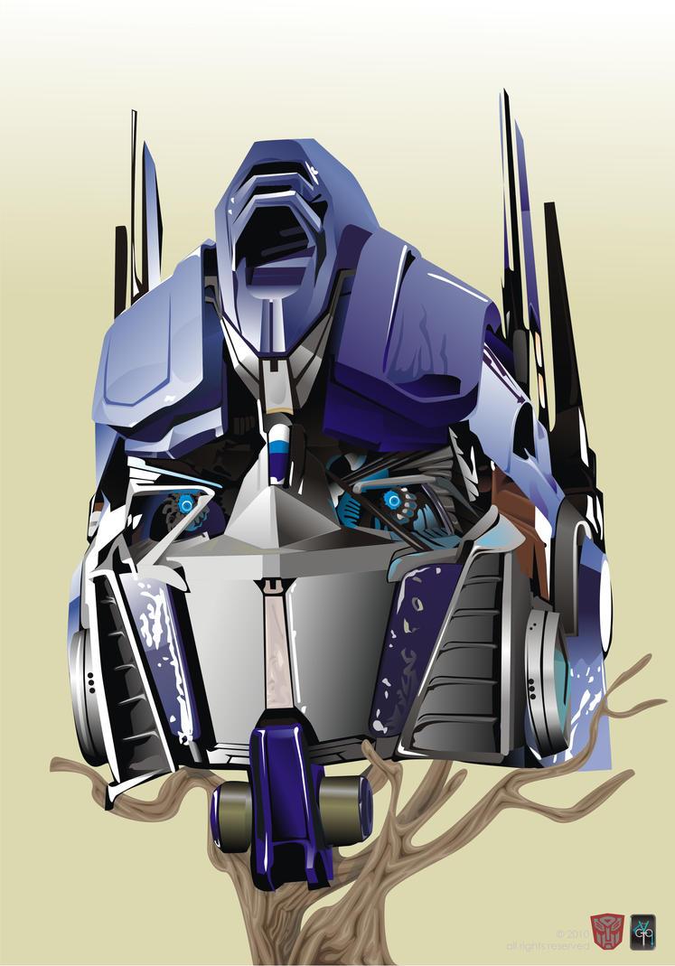 Optimus prime's head by VictorRasEisenheim on DeviantArt  Optimus prime&#...