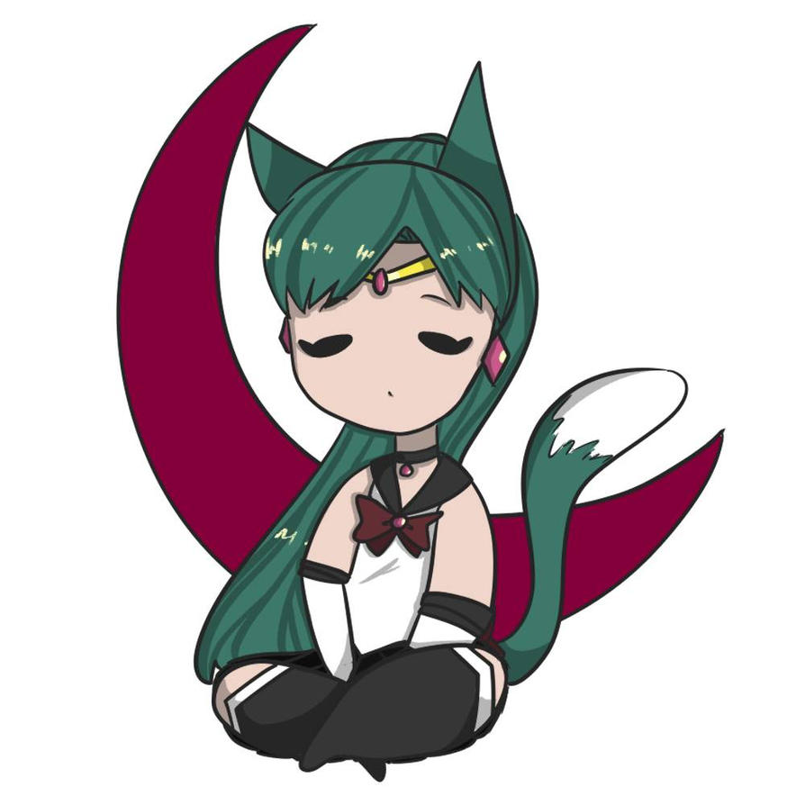 Neko Sailor Pluto by Nyanimations