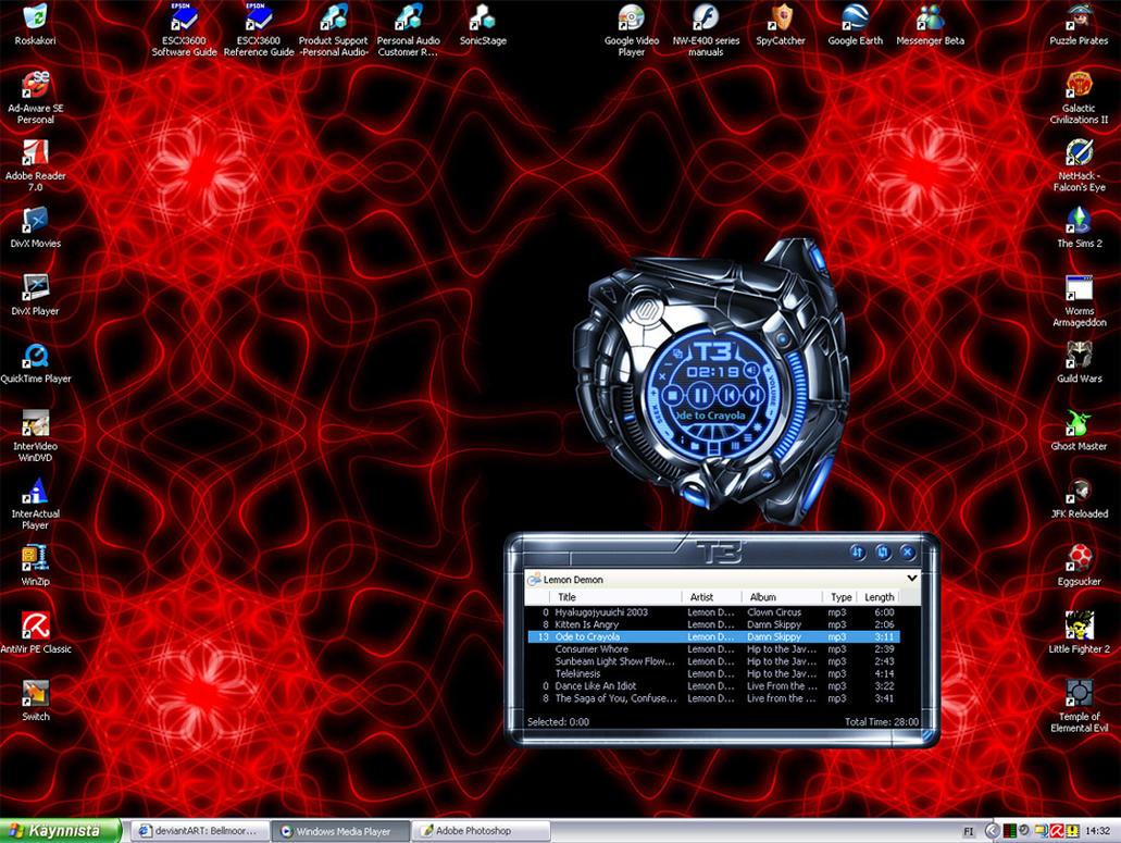 My desktop by Bellmoore