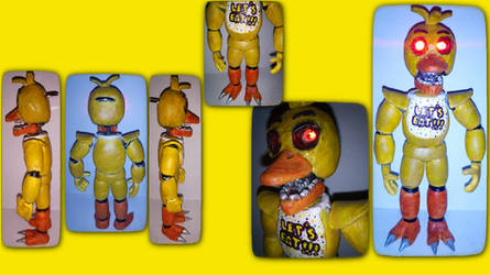 Soulless New Chica v2 handmade figure by Jakub42042-Funtime