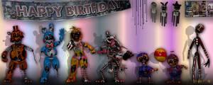 (Edit) Ravaged Toy Animatronics - GIFT