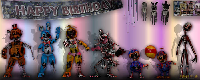 (Edit) Ravaged Toy Animatronics - GIFT