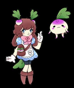 Turnip Farmer Mascot - ota [closed]