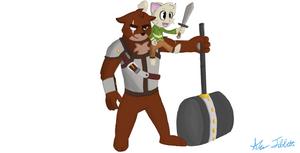 True Tail - Caleb and Brutus