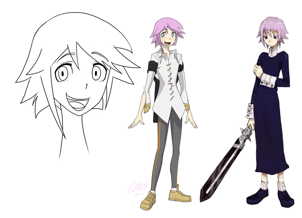 Post Anime Crona Model Sheet By Gairon