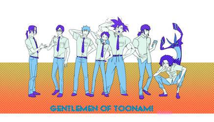 Men of Toonami 04 by Gairon